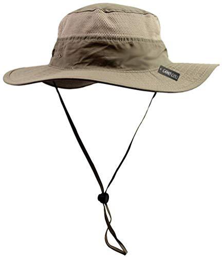 CAMO COLL Outdoor Sun Cap Camouflage Bucket Mesh Boonie...