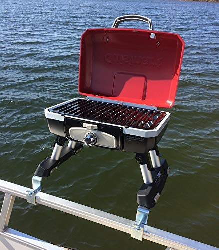 Cuisinart Grill Modified for Pontoon Boat with Arnall's...