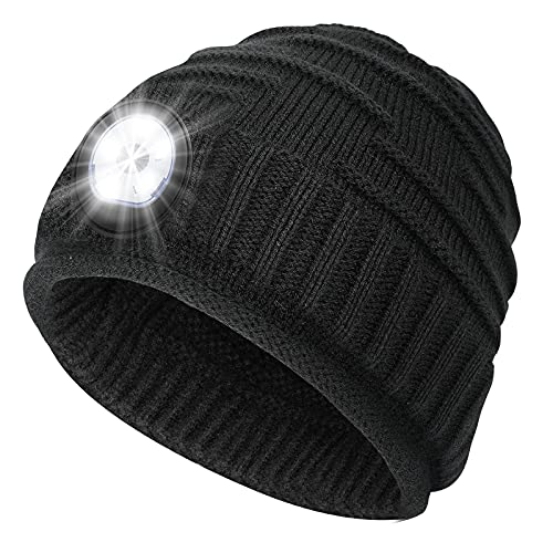 Mens Gifts Beanie Hat with Light - Christmas Stocking...