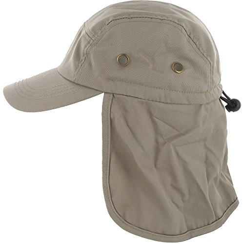 DealStock Fishing Cap with Ear and Neck Flap Cover -...