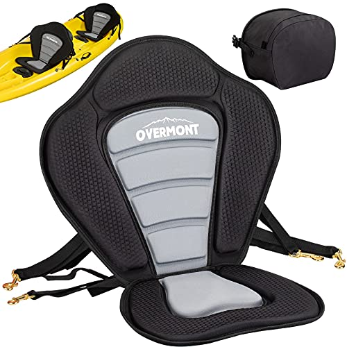 Overmont Universal Sit-On-Top Kayak Seat with Back...