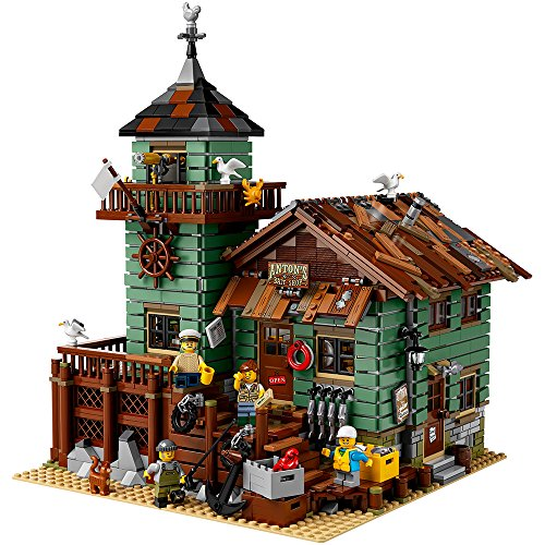 LEGO Ideas Old Fishing Store (21310) - Building Toy and...