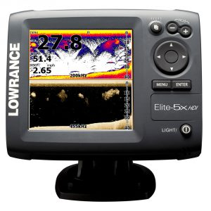 Elite 5x hdi for 3d fish finder