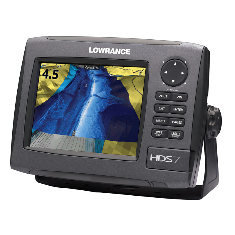 lowrance mark 5x pro how to use