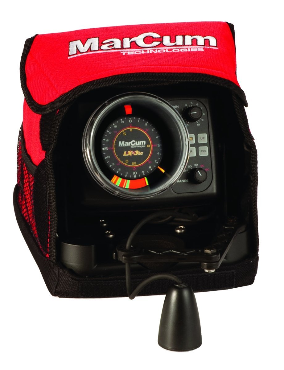 Marcum lx 3tc true color ice flasher review for Marcum ice fishing