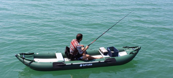 The best inflatable fishing kayak for Best fly fishing kayak