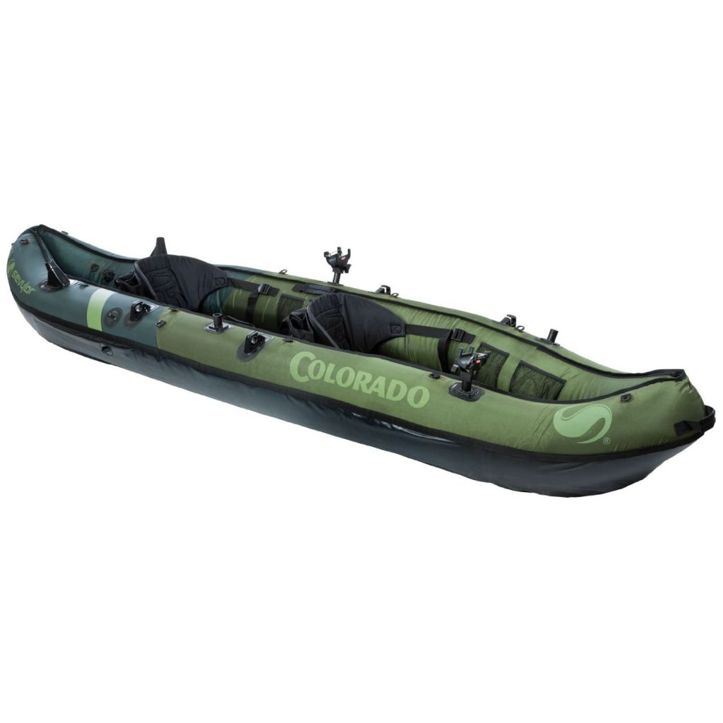 The best inflatable fishing kayak best fish finder for Fishing kayak sale