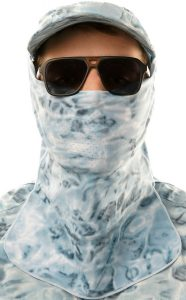 Fishing Hunting Camouflage Face Mask Pro+ from Aqua Design