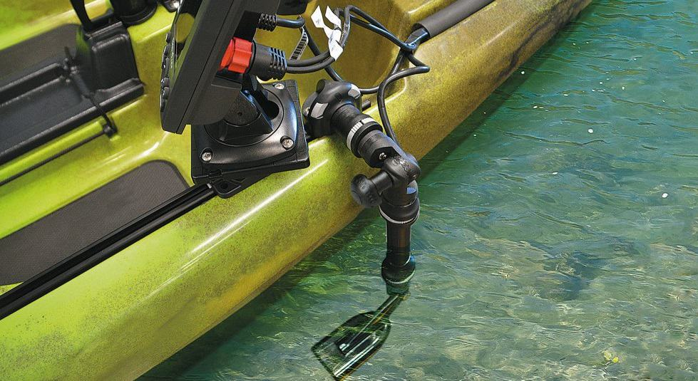 Can You Mount A Transducer In A Kayak Hull